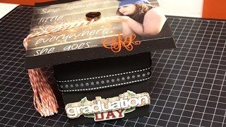 Walk through if the Graduation Explosion Box and New Stamp Set!