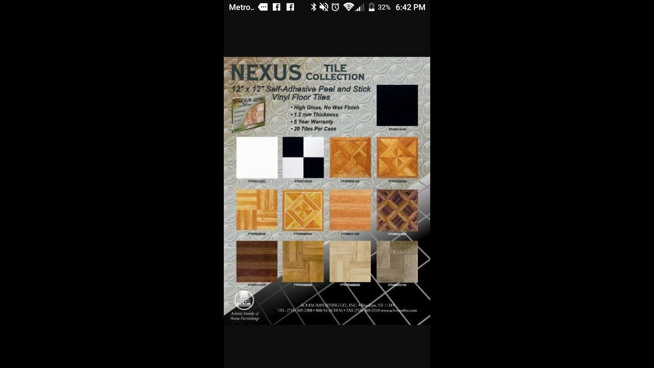 Review - Nexus Tile Collection - YouTube