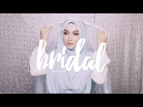 Wedding Hijab Tutorial: Syrian Style with Headband