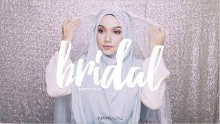 Video Wedding Hijab Tutorial: Syrian Style with Headband download MP3, 3GP, MP4, WEBM, AVI, FLV Oktober 2017