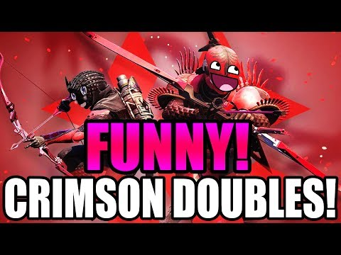 FUNNY CRIMSON DOUBLES WITH GF ❤️ | Destiny 2 Crimson Days Gameplay thumbnail