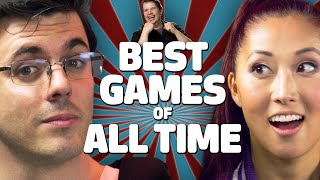 BEST GAMES OF ALL TIME (1v1 Debates) by SMOSH Games & WIRED • Game|Life Special