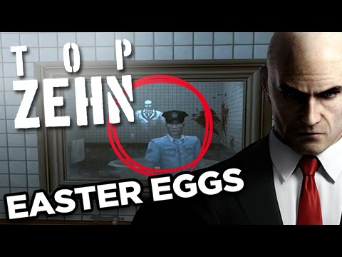 Die 10 unheimlichsten Easter Eggs in Videogames!