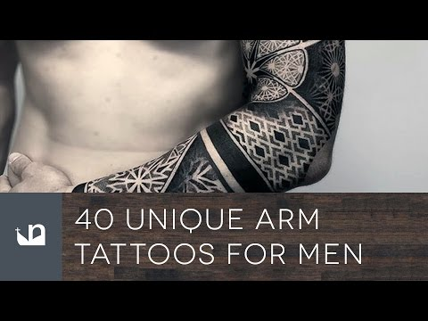 40 Unique Arm Tattoos For Men