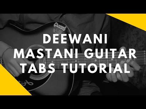 Guitar lesson (tabs) /deewani mastani/By Nikhil Sagar
