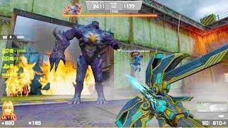 Counter-Strike Nexon: Zombies - Revenant Zombie Boss Fight (Hard7) online gameplay on Decoy Map