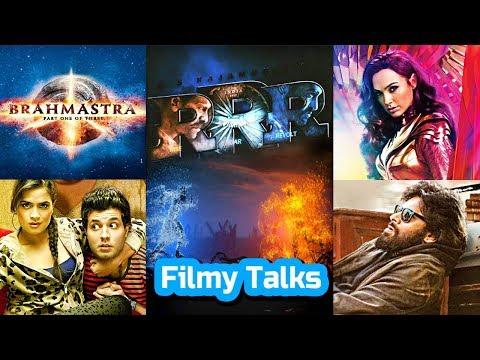 Filmy Talks - RRR, Wonder Woman 1984, Brahmāstra, Fukrey 3, World Famous Lover Remake, Vakeel Saab