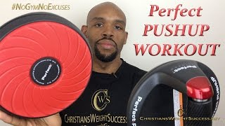 HOW TO USE PERFECT PUSHUPS- CHRISTIAN EVANS