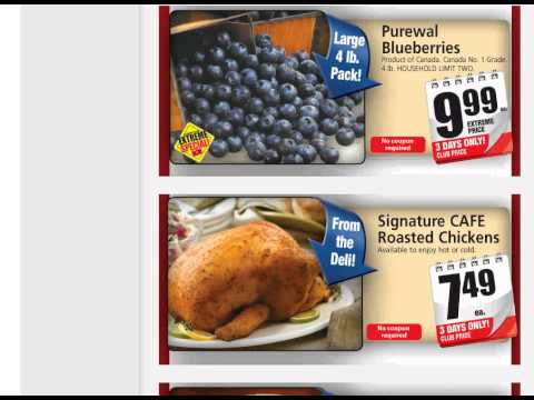 Canadian Couponing; Saving Money, This weeks specials (Western Canada)