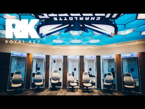We Toured the Charlotte Hornets' Sneaker Filled Facility | The Royal Key