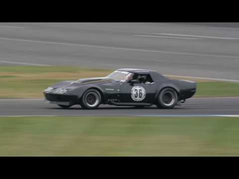 SVRA INDY Legends Charity Pro-Am race 2017