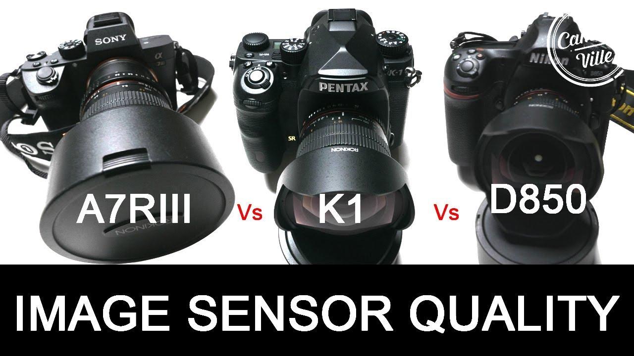 Sony A7rIII vs Pentax K1 vs Nikon D850 Image Sensor Quality Test - Real  World Test