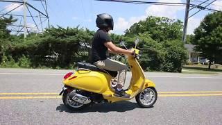 Mellow Yellow Vespa 150 review