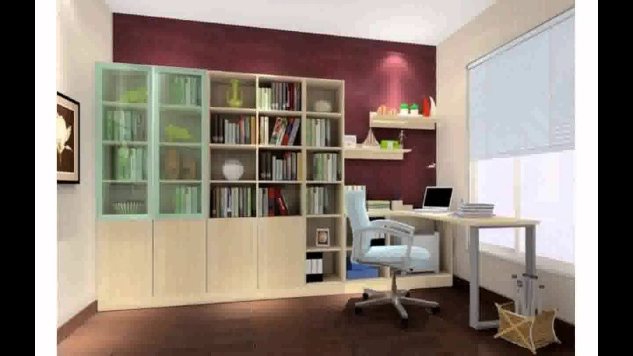 interior design study room - youtube