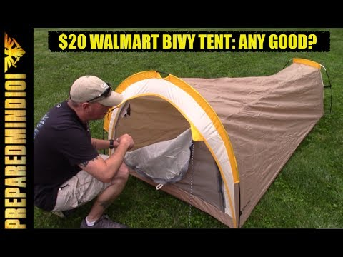 $20 Walmart Bivy Tent: Any Good?? (Part 1: First Look/Inspection) - Preparedmind101