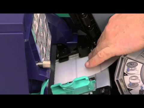 How to Install a Roll of Black Mark or Cue Bar Labels in the Kiaro!