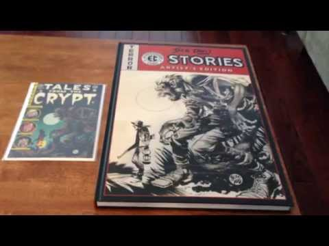Jack Davis EC Stories Artist Edition, closer look.