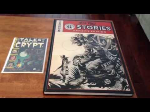 Jack Davis EC Stories Artist Edition, closer look.