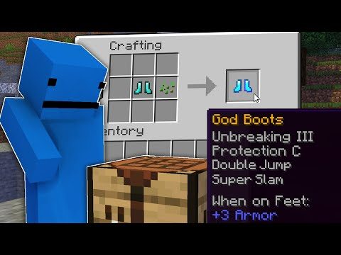 Minecraft Manhunt, But There's God Armour...