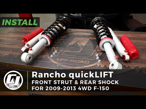 Ford F-150 Install: Rancho Loaded quickLIFT RS9000XL Strut Leveling Kit with Rear Shocks