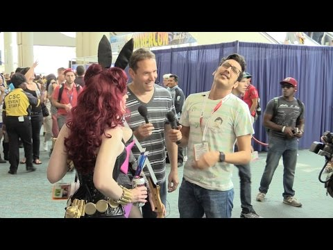 Crashing Kassem G's Interview AGAIN! - Comic-Con 2015 vlog