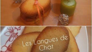 Langue de chat recette facile par Sucré-Salé