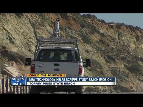 New technology to study beach erosion