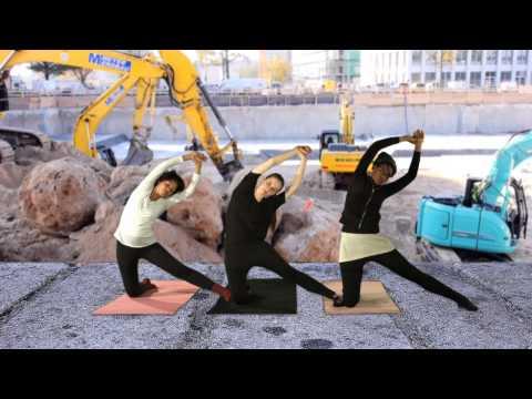 Yoga for Peace - Sideways Bending