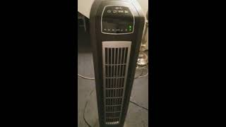 Lasko wind tower curve fan with fresh air ionizer 42 inches