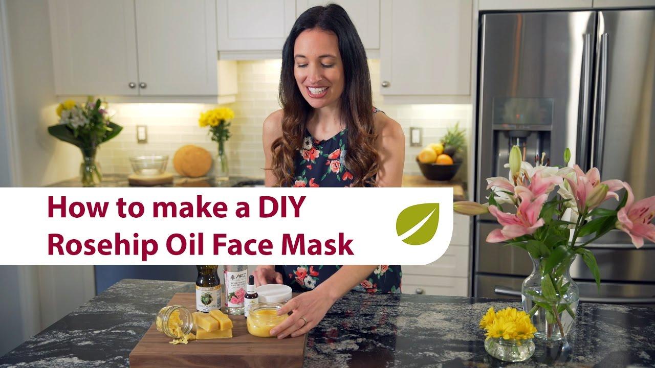 DIY Youth-Enhancing Rosehip Oil Face Mask | Natural Beauty Secrets