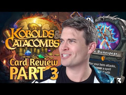 (Hearthstone) Kobolds & Catacombs Review: Part 3 (Shaman, Warlock, Warrior)