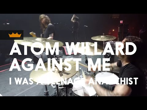 Remo + Atom Willard / Against Me: I Was a Teenage Anarchist