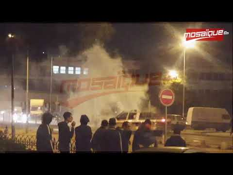 Les forces de l'ordre dispersent les supporters de l'EST à Bab Khadhra