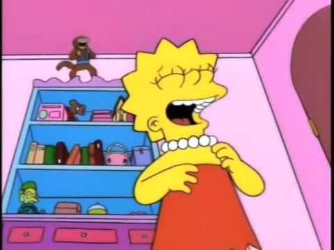 Lisa Simpson Laughs At Croc Chase By Earwaxkid On Deviantart