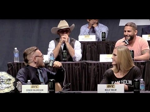 "Conor McGregor to Chad Mendes: ""You Hit the Deck Like a B-tch!"""