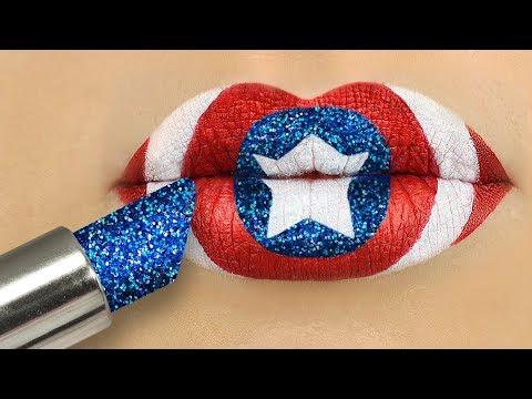 8 DIY Seltsame Make-Up Ideen / Avengers Makeup Tutorial