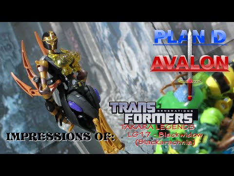 Welcome To My Parlor - PDA Impressions of Transformers Legends Blackarachnia