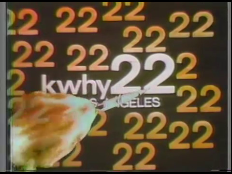 KWHY22 Los Angeles SelecTV Sign-Off - Circa 1985