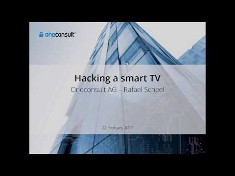Smart TV Hacking (Oneconsult Talk at EBU Media Cyber Security Seminar)