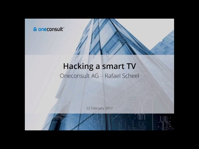 Smart TV hack using over-the-air signals exposed - TechSpot
