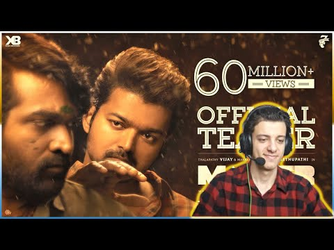 Master – Official Teaser | Thalapathy Vijay | Anirudh Ravichander | REACTION !