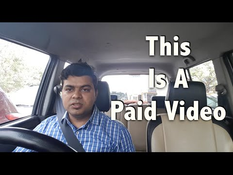 "Hindi | ""This Is A Paid Video"" My Thoughts!"