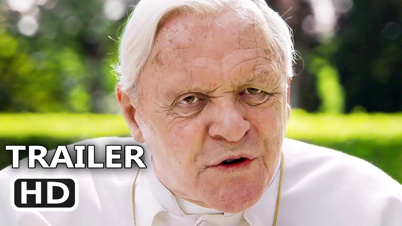 THE TWO POPES Official Trailer (2019) Anthony Hopkins, Jonathan Pryce, Netflix Movie HD