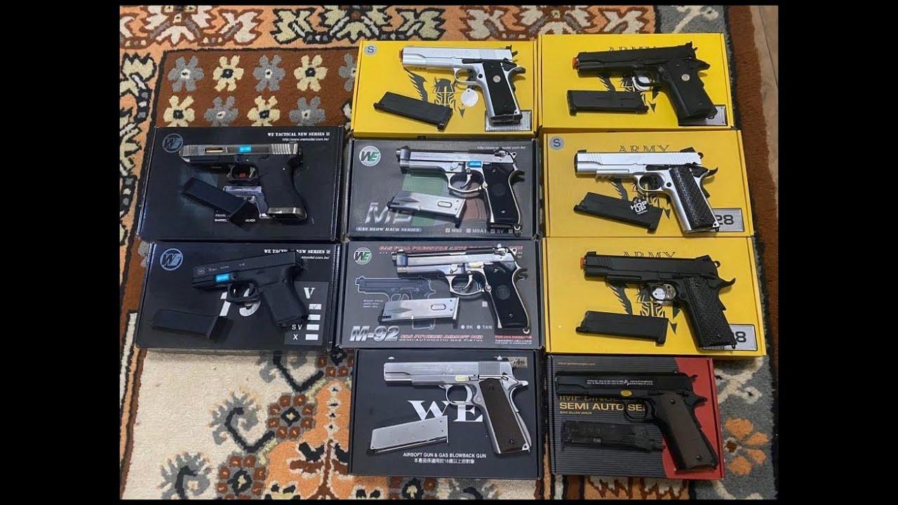 รีวิวบีบีกัน ปืนสั้นอัดแก็ส ปี2021 มีตัวไหนบ้างพร้อมบอกราคา