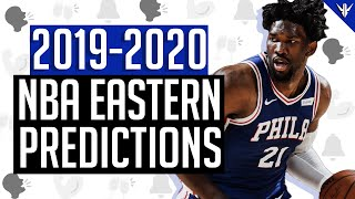 NBA Eastern Conference 2019-2020 Predictions
