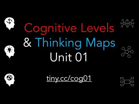 Cognitive Levels and Think Maps - Unit 01
