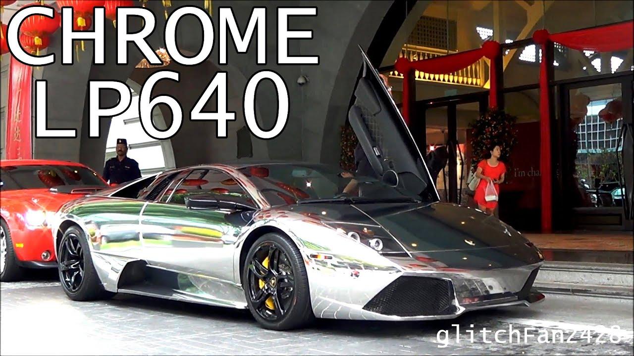 Chrome Lamborghini Murcielago Lp640 Youtube