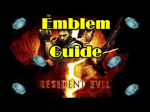 Resident Evil 5 - ALL BSAA EMBLEMS LOCATION GUIDE