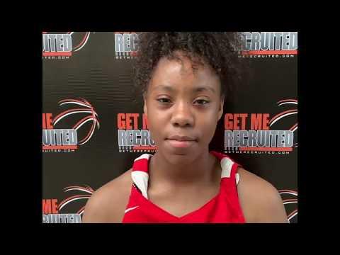 Tyra Myers (SC 76ers Sizzle/Hammond School/Columbia, SC) 2022 5'6 PG