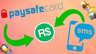 [STARÉ] Jak koupit robuxy přes SMS nebo Paysafecard / ROBLOX / jurasek05